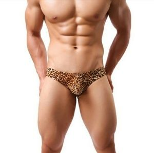 Other - NEW! Yellow Leopard Briefs